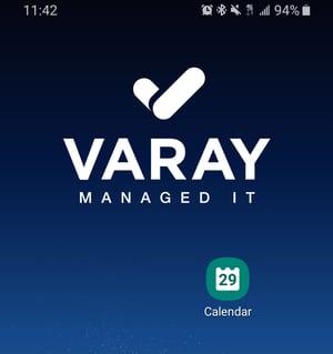 Calendar App. - Varay Managed IT