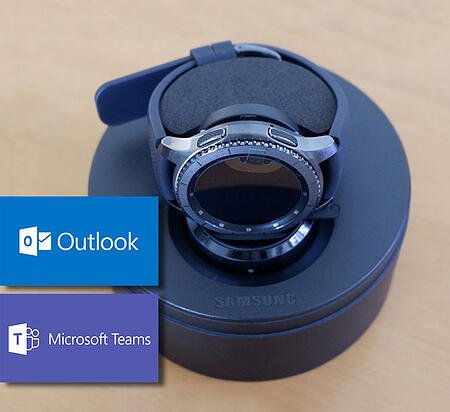 Use your Galaxy Watch to stay connected with Outlook & Teams