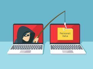 Data thief phishing between two laptops | Varay, El Paso