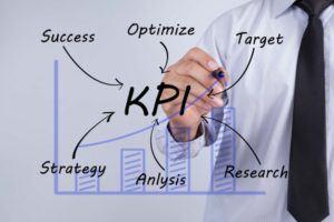 KPI | man tracking KPI metrics