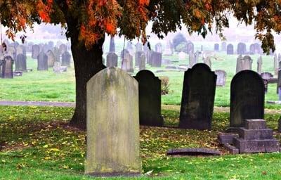 Windows 7 and Server 2008 End of Life gravestones | Varay, El Paso